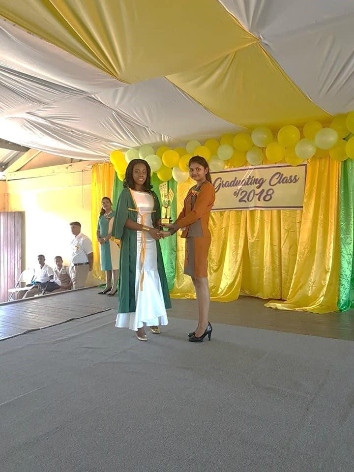 Congrats Best Graduating Student!