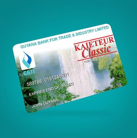 Gas Money Calculator >> Kaieteur Classic Debit Card   Bank Debit Card GBTI Guyana