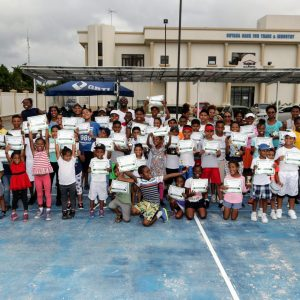 70 East Bank Youths Introduced To Tennis In GBTI Diamond Tennis Camp
