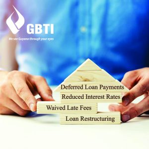 GBTI waives penalty interests and late payment fees, reduces interest rates, defers loan payments and offers debt restructuring